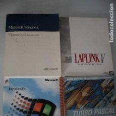 Libros de segunda mano: 4 LIBROS DE INFORMATICA. Lote 191474532