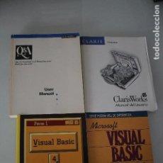 Libros de segunda mano: 4 LIBROS DE INFORMATICA. Lote 191474638