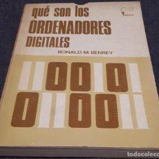 Libros de segunda mano: QUÉ SON LOS ORDENADORES DIGITALES – RONALD M. BENREY . Lote 191748128