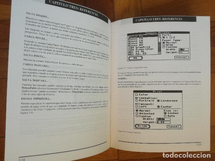 Libros de segunda mano: Deluxe Paint II - Commodore Amiga - Manual de usuario - Foto 3 - 193669295
