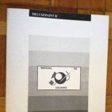 Libros de segunda mano: DELUXE PAINT II - COMMODORE AMIGA - MANUAL DE USUARIO. Lote 193669295