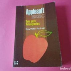 Libri di seconda mano: LIBRO APPLESOFT BASIC, GUIA PARA PRINCIPIANTES, NUEVO!!!!!. Lote 193711345
