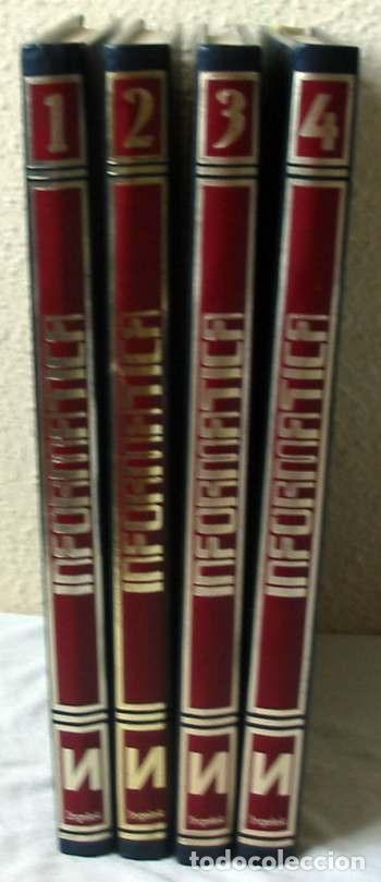 INFORMÁTICA - 4 TOMOS COMPLETA - NUEVA LENTE 1983 - 1048 PÁGINAS - VER ÍNDICES (Libros de Segunda Mano - Informática)