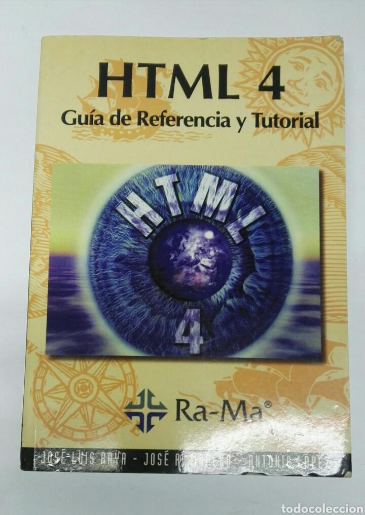 HTML 4 GUÍA DE REFERENCIA Y TUTORIAL (Libros de Segunda Mano - Informática)