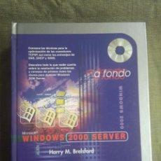 Libros de segunda mano: MANUAL INFORMATICA MICROSOFT 2000 SERVER A FONDO. HARRY M BRELSFORD. ANAYA MULTIMEDIA. Lote 194276038