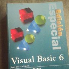 Libros de segunda mano: MANUAL INFORMATICA VISUAL BASIC 6 EDICIÓN ESPECIAL. BRIAN SILVER JEFF SPOTTS. PRENTICE HALL. Lote 194276710