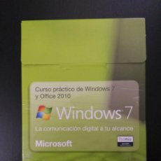 Libros de segunda mano: CURSO PRÁCTICO DE WINDOWS 7 Y OFFICE 2010 (26 CDS). Lote 194405766