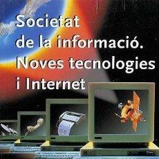 Libros de segunda mano: SOCIETAT DE LA INFORMACIÓ, NOVES TECNOLOGIES I INTERNET. DICCIONARI TERMINOLÒGIC - CENTRE DE TERMINO. Lote 194476615