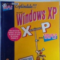 Libros de segunda mano: 32238 - MICROSOFT WINDOWS XP PARA TORPES - POR VICENTE TRIGO ARANDA - EDITORIAL ANAYA AÑO 2005 . Lote 194573467
