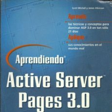Libros de segunda mano: APRENDIENDO ACTIVE SERVER PAGES 3.0 EN 21 DIAS. Lote 194584481