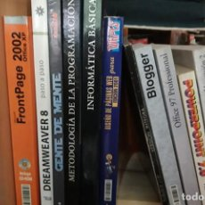 Libros de segunda mano: VARIOS LIBROS INFORMÁTICA SEGÚN FOTOGRAFIA. Lote 194758080