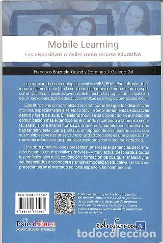 Libros de segunda mano: MOBILE LEARNING LOS DISPOSITIVOS MÓVILES COMO RECURSO EDUCATIVO. LOS DISPOSITIVOS MOVILES COMO RECU - Foto 2 - 194848450