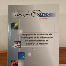 Libros de segunda mano: PROGRAMA DE FORMACIÓN DE TECNOLOGÍAS DE LA INFORMACIÓN Y COMUNICACIONES EN CASTILLA-LA MACHA. Lote 194939686