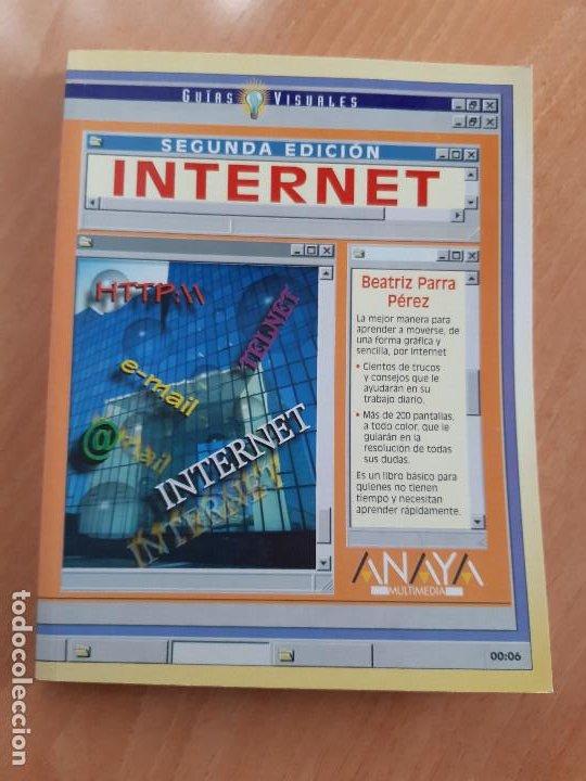 LIBRO. GUIAS AUDIOVISUALES. INTERNET (ANAYA, 1998) (Libros de Segunda Mano - Informática)