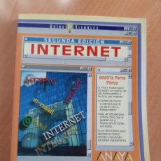 Libros de segunda mano: LIBRO. GUIAS AUDIOVISUALES. INTERNET (ANAYA, 1998). Lote 194956647