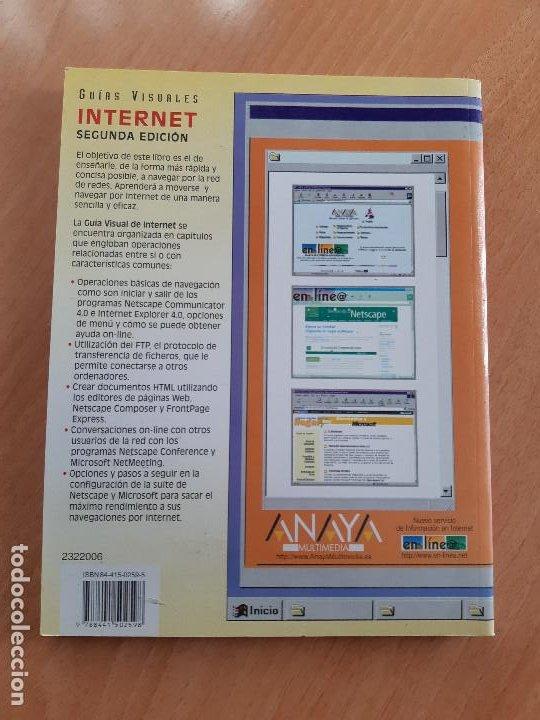Libros de segunda mano: Libro. Guias Audiovisuales. Internet (Anaya, 1998) - Foto 2 - 194956647
