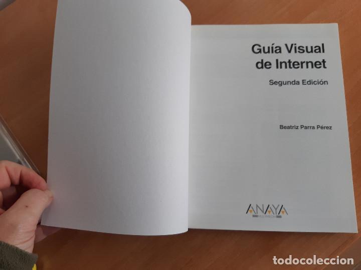 Libros de segunda mano: Libro. Guias Audiovisuales. Internet (Anaya, 1998) - Foto 3 - 194956647