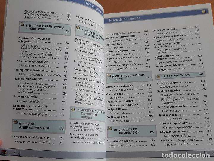 Libros de segunda mano: Libro. Guias Audiovisuales. Internet (Anaya, 1998) - Foto 6 - 194956647