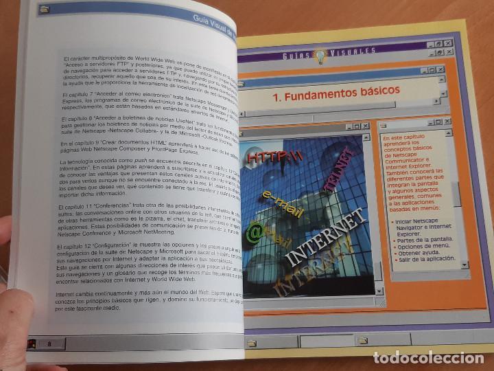 Libros de segunda mano: Libro. Guias Audiovisuales. Internet (Anaya, 1998) - Foto 7 - 194956647