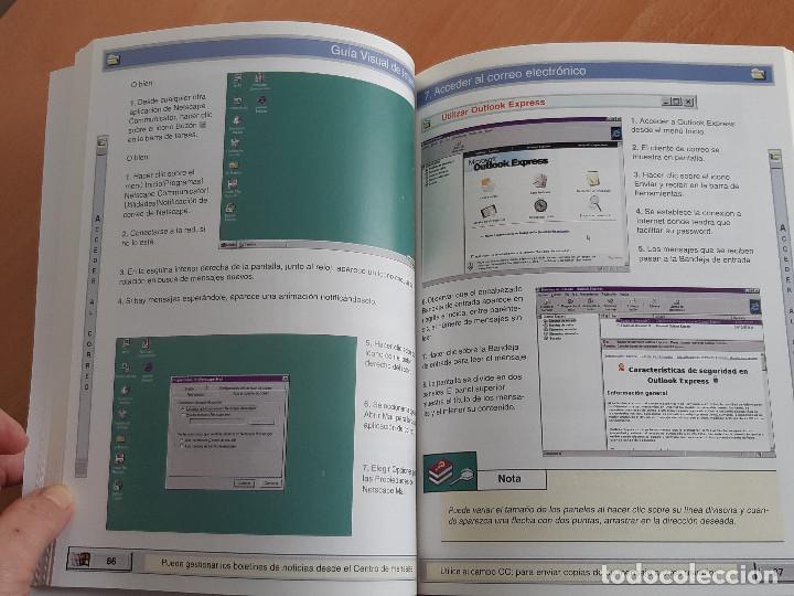 Libros de segunda mano: Libro. Guias Audiovisuales. Internet (Anaya, 1998) - Foto 8 - 194956647