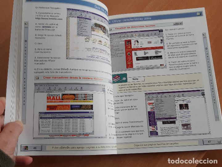 Libros de segunda mano: Libro. Guias Audiovisuales. Internet (Anaya, 1998) - Foto 9 - 194956647