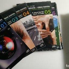 Libros de segunda mano: TODO SOBRE FOTOGRAFÍA & VÍDEO DIGITAL 2 LIBROS Y 49 CDS PC.. Lote 195141061