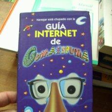 Libros de segunda mano: GUÍA INTERNET DE GOMAESPUMA, ED AGUILAR. L.11029-702. Lote 195278987