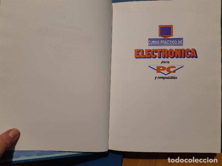 Libros de segunda mano: Curso Práctico de Electrónica para PC y Compatibles (F&G Editores, 1990) 5 Tomos. Completo - Foto 4 - 195327955