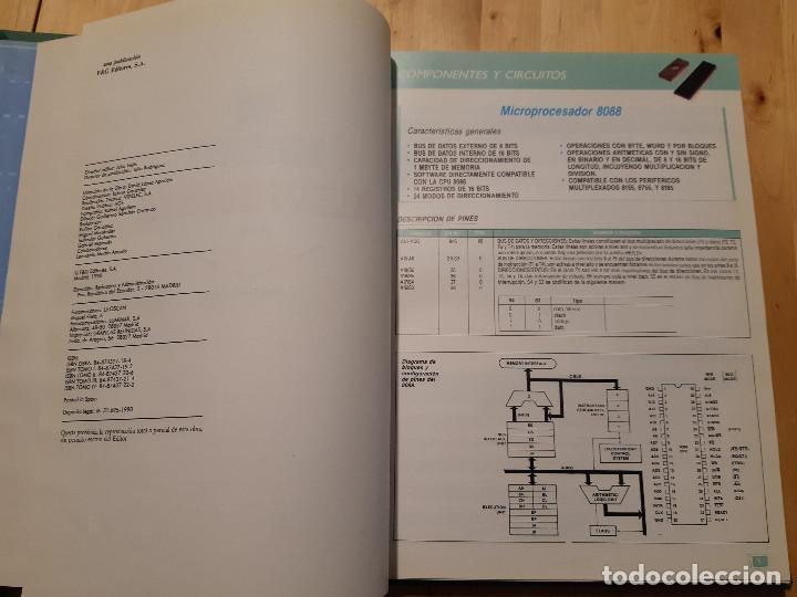 Libros de segunda mano: Curso Práctico de Electrónica para PC y Compatibles (F&G Editores, 1990) 5 Tomos. Completo - Foto 5 - 195327955