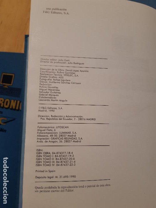 Libros de segunda mano: Curso Práctico de Electrónica para PC y Compatibles (F&G Editores, 1990) 5 Tomos. Completo - Foto 6 - 195327955