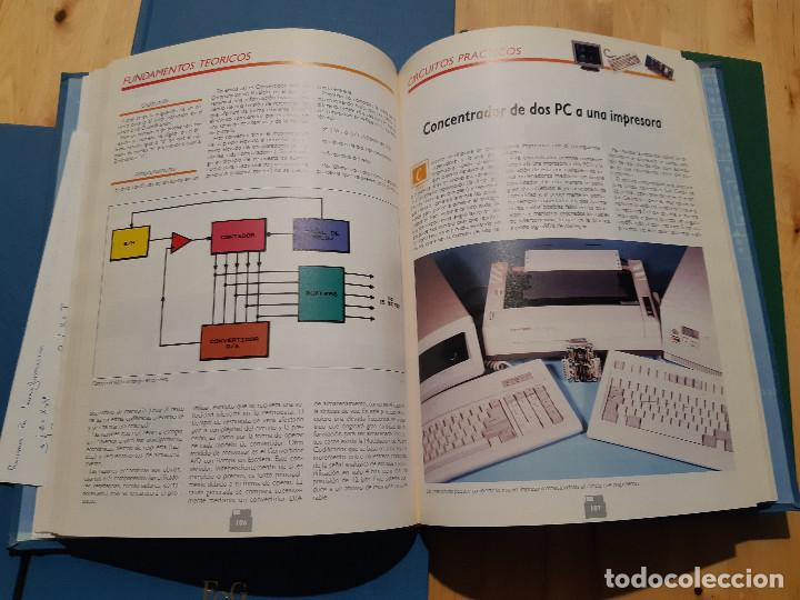Libros de segunda mano: Curso Práctico de Electrónica para PC y Compatibles (F&G Editores, 1990) 5 Tomos. Completo - Foto 14 - 195327955