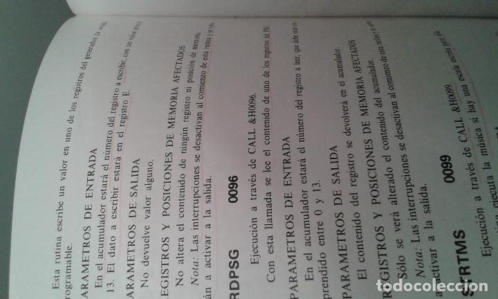 Libros de segunda mano: MSX GUIA DEL PROGRAMADOR 1985 - Foto 3 - 195345241