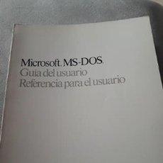 Livros em segunda mão: MICROSOFT MS-DOS V4 GUÍA DEL USUARIO. Lote 198679360