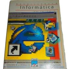 Libros de segunda mano: BACHILLERATO INFORMÁTICA + CD ROM EDITORIAL CASALS TECNOLOGÍAS DE LA INFORMACIÓN AÑO 2000. Lote 115612415