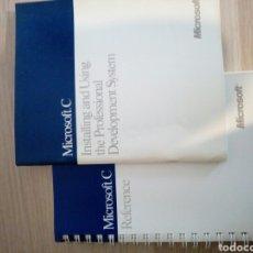 Libros de segunda mano: MANUALES MICROSOFT C. Lote 199403922