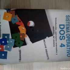 Libros de segunda mano: SISTEMA OPERATIVO DOS 4 - JAIME DE IRAOLAGOITIA - PARANINFO 1989. Lote 199405008