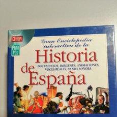Livros em segunda mão: GRAN ENCICLOPEDIA INTERACTIVA DE LA HISTORIA DE ESPAÑA. 18 CD´S. Lote 199451377
