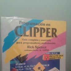 Libros de segunda mano: PROGRAMACION EN CLIPPER. Lote 200125458
