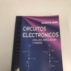Libros de segunda mano: CIRCUITOS ELECTRÓNICOS. Lote 202038951