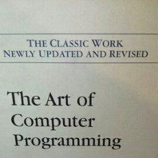 Livros em segunda mão: THE ART OF COMPUTER PROGRAMMING 1. Lote 203361300