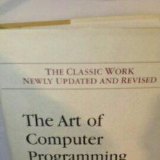 Livros em segunda mão: THE ART OF COMPUTER PROGRAMMING 2. Lote 203361751