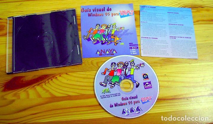 Libros de segunda mano: INFORMÁTICA PARA TORPES, ILUSTRADO POR FORGES, LIBRO + CD - Foto 5 - 204220658