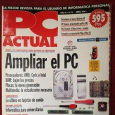 Libros de segunda mano: REVISTA PC ACTUAL - Nº 74 - ABRIL 1996. Lote 204366665