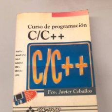 Libros de segunda mano: URSO DE PROGRAMACIÓN C/C ++. Lote 204772952
