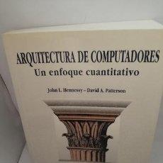 Libros de segunda mano: ARQUITECTURA DE COMPUTADORES. Lote 205280168