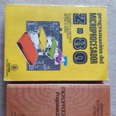 Livres d'occasion: PROGRAMACIÓN DEL MICROPROCESADOR Z-80. Y MICROPROCESADOR Z-80. PROGRAMACIÓN EN INTERFACES. Lote 205309202