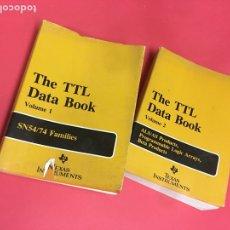 Libros de segunda mano: TTL DATA BOOK COMPLETO DOS LIBROS. Lote 205349991