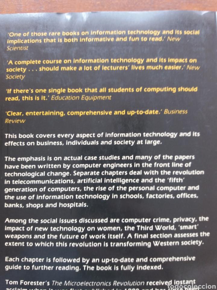 Libros de segunda mano: The Information Technology Revolution - Foto 2 - 205509326