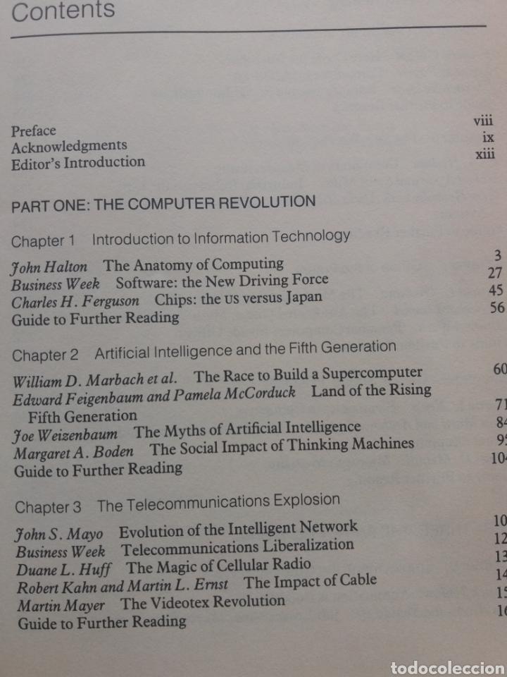 Libros de segunda mano: The Information Technology Revolution - Foto 3 - 205509326