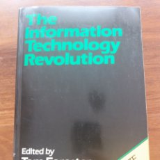 Libros de segunda mano: THE INFORMATION TECHNOLOGY REVOLUTION. Lote 205509326